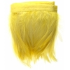 Coque Hackle 4-6in Value Strung 1Yd Yellow